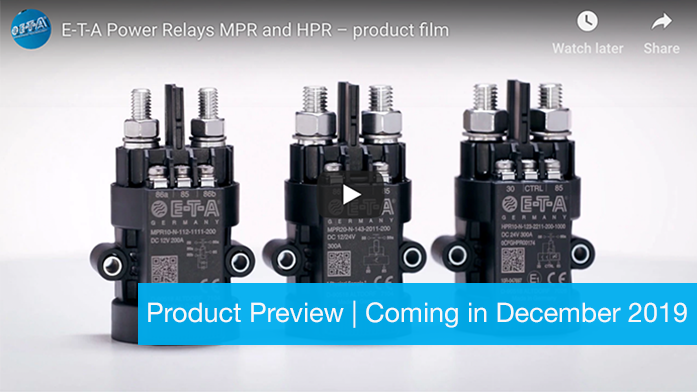 Power Relays MPR/HPR